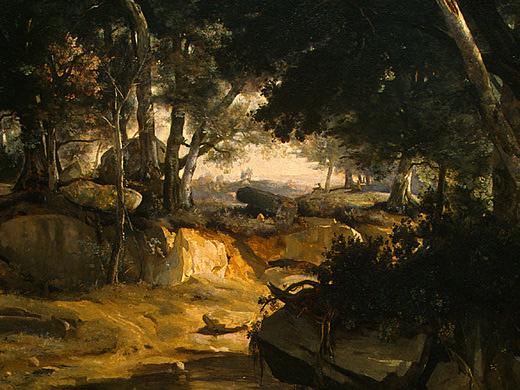 Камиль Коро. Лесной пейзаж