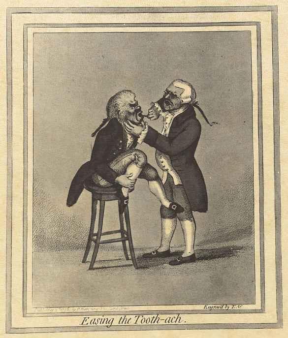 Джеймс Гилрей. Устранение зубной боли
