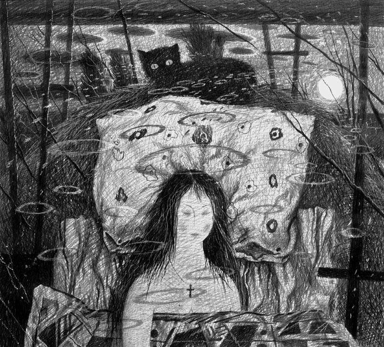"Dmitry Nikitich Sandzhiev. SLEEP. FROM THE SERIES ""DREAMS"""