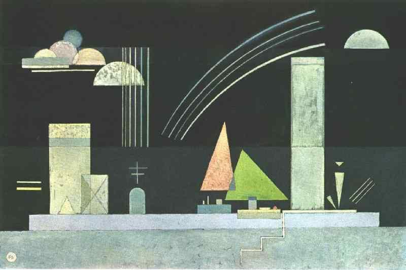 Wassily Kandinsky. On vacation