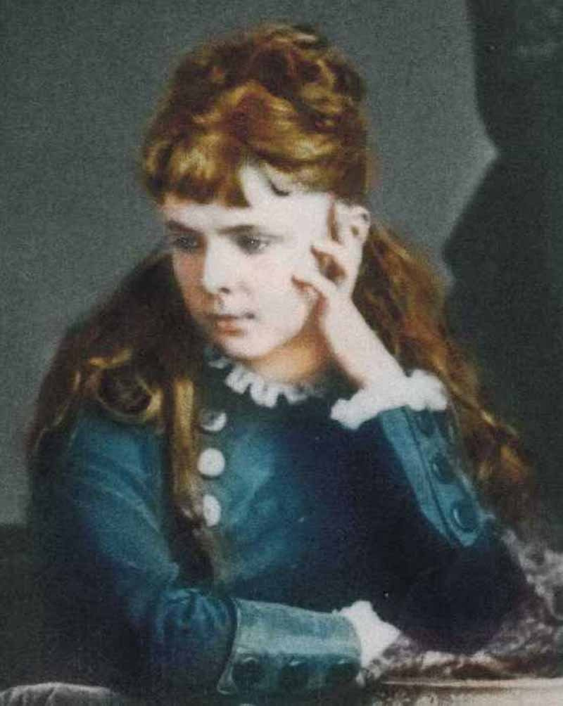 Мария Константиновна Башкирцева. Self-portrait