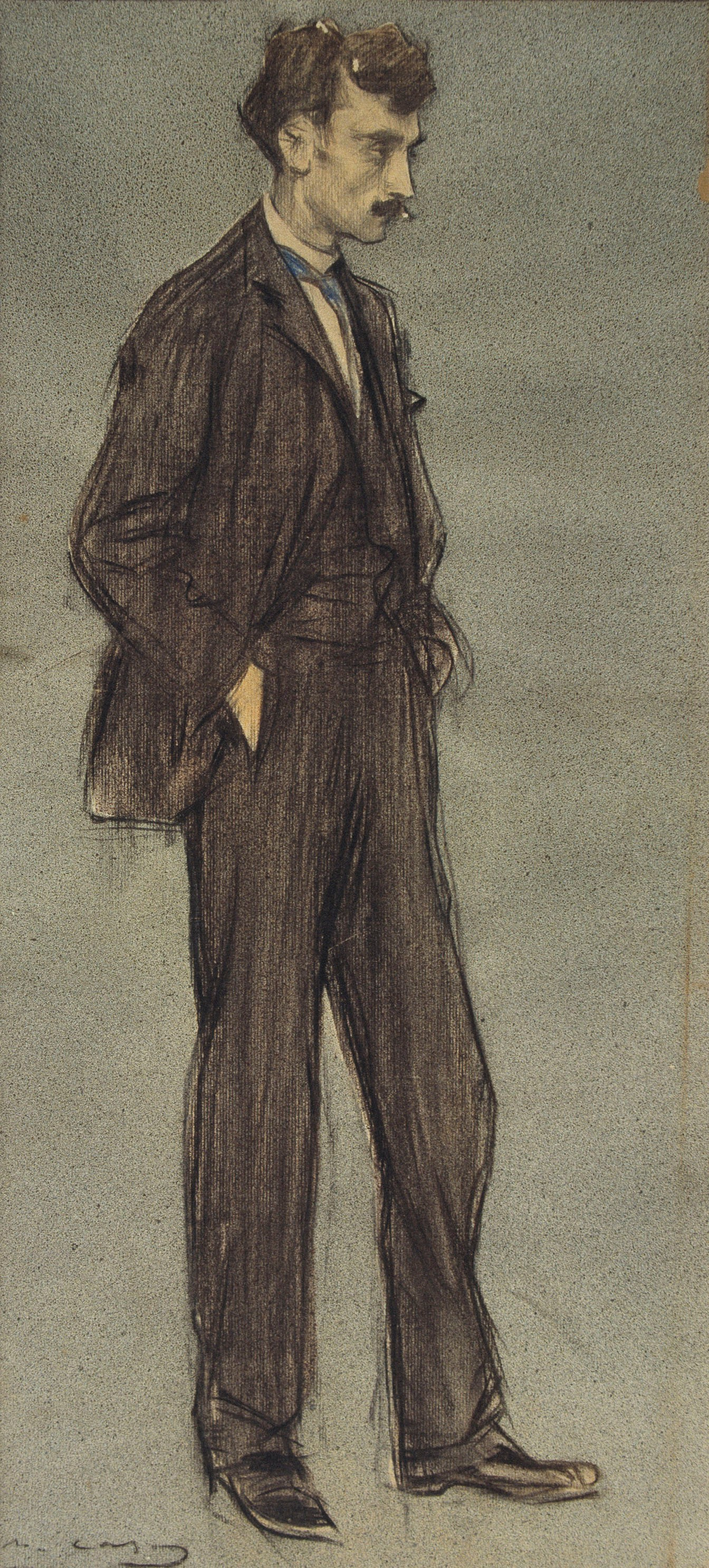 Ramon Casas i Carbó. Portrait of Ignacy Iglesias