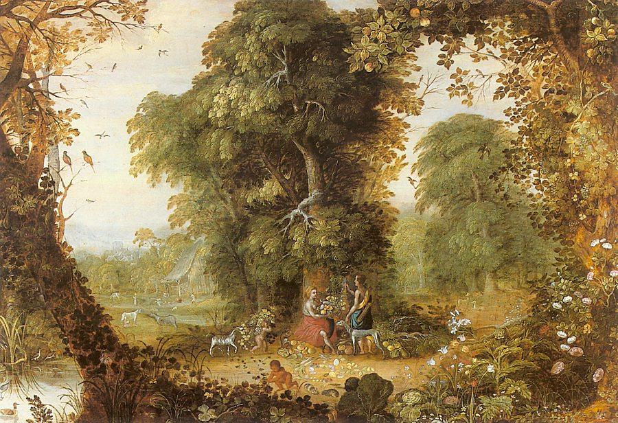 Alexander Keiriks. Magic garden