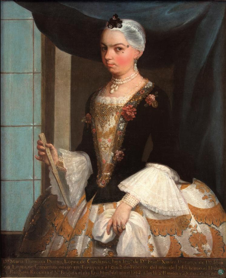 Хуан Патрисио Морлете Руис. Портрет доньи Марии Томасы Дюран Лопез де Гарденас