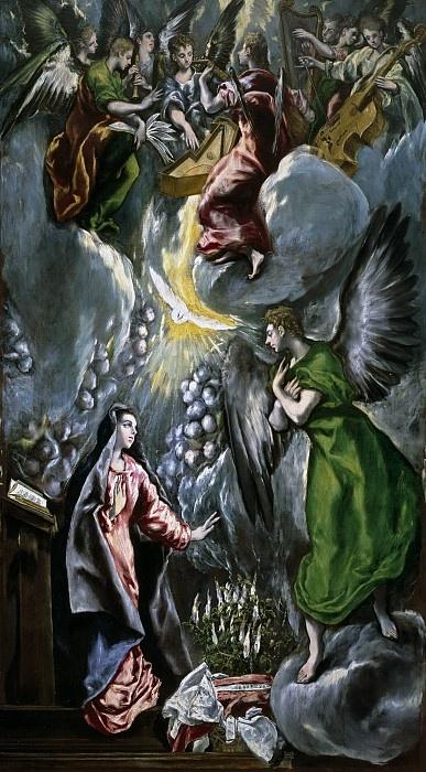Domenico Theotokopoulos (El Greco). The Annunciation