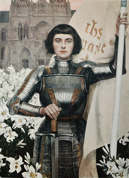 Albert Lynch. Jeanne d'Arc