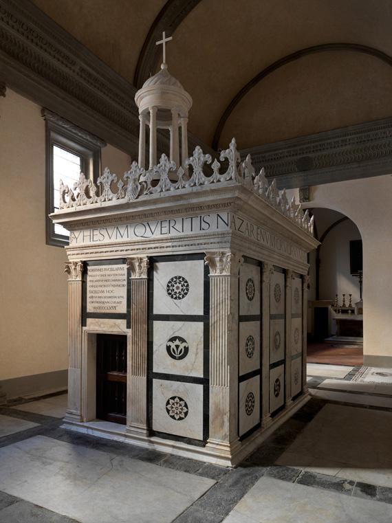 Leon Battista Alberti. Chapel of Rucellai