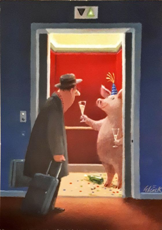 Gerhard Gluck. Untitled