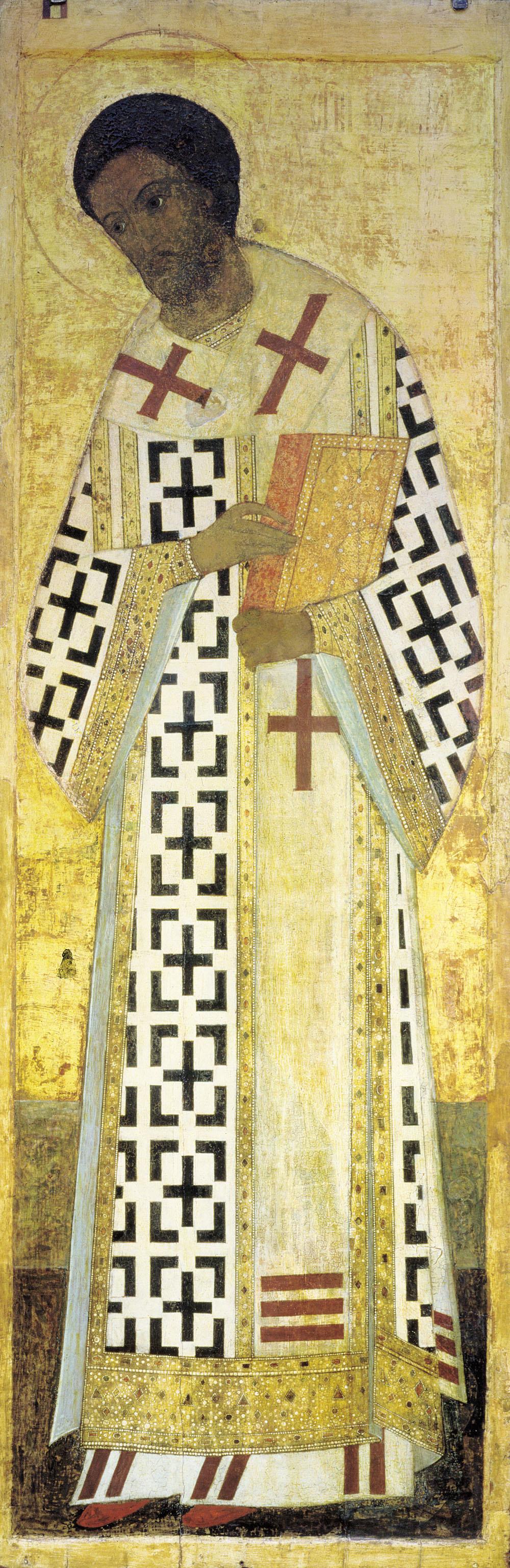 Andrey Rublev. John Chrysostom