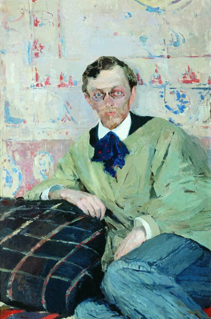 Sergey Arsenievich Vinogradov. Portrait Of Konstantin Konstantinovich Pervukhina