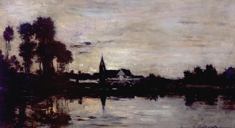 Шарль-Франсуа Добиньи. Городок на Сене