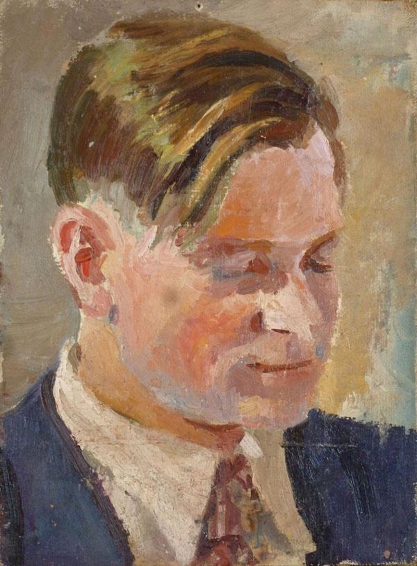 Nikolay Fedorovich Denisovsky. Portrait of the artist Konstantin Vyalov