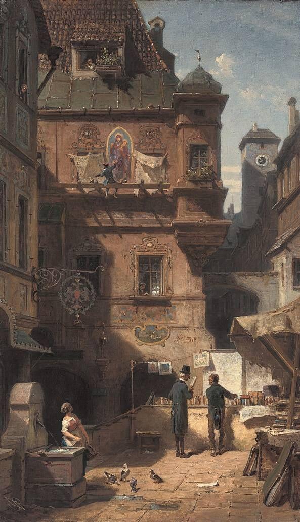 Карл Шпицвег. Искусство и наука
