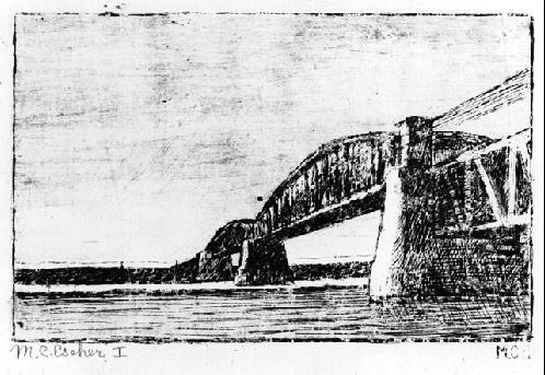 Мауриц Корнелис Эшер. Мост