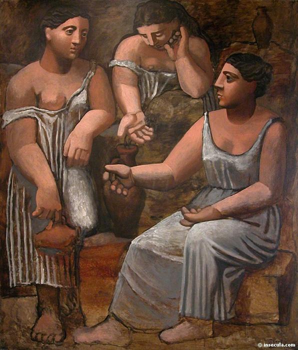 Пабло Пикассо. Три женщины у фонтана