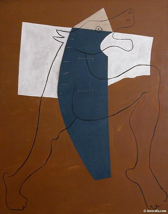 Пабло Пикассо. Минотавр бегущий