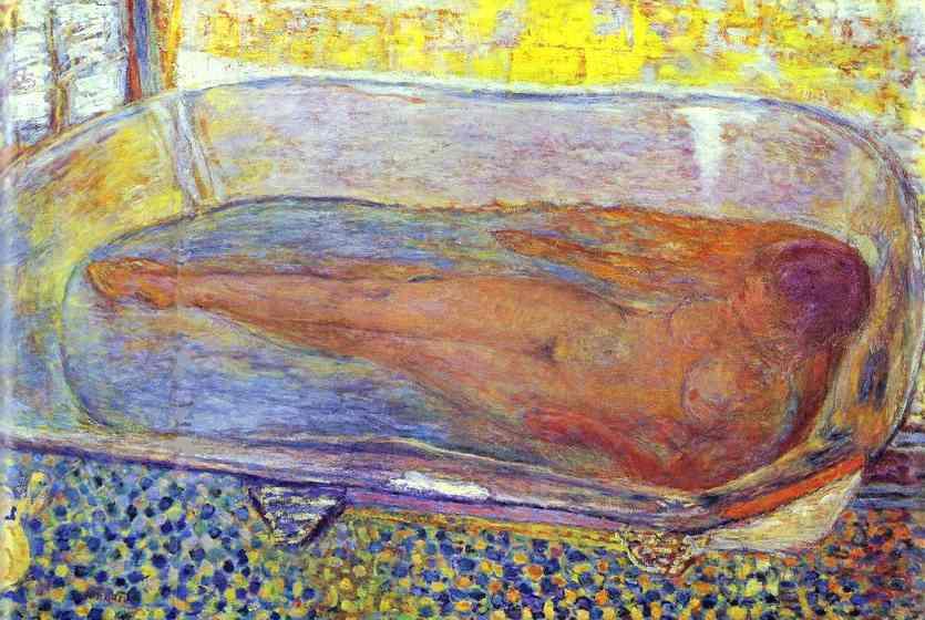 Пьер Боннар. Девушка в ванной