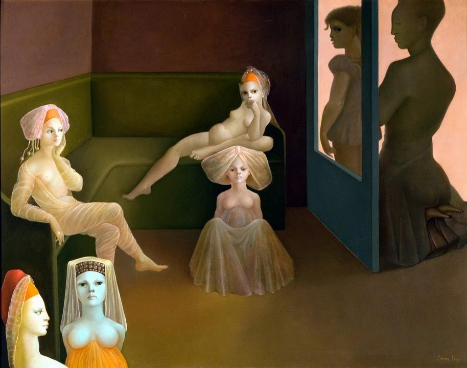 Leonor Fini. Hurry, Hurry, Hurry, My Dolls Are Waiting