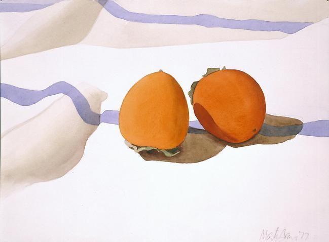 Mark Adams. Two persimmon