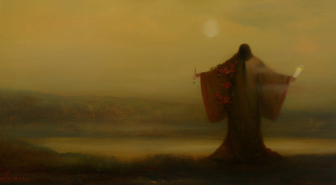Ольга Акаси. By Eyes of Wind