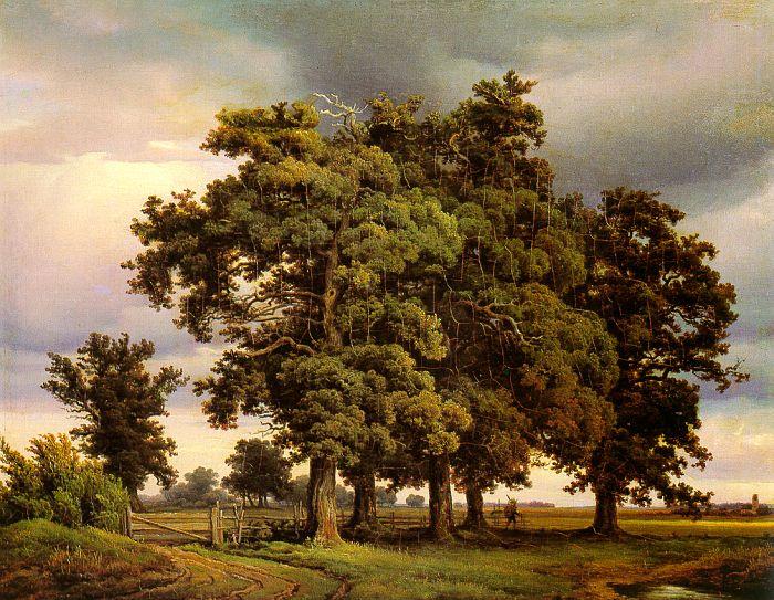 Георг-Генрих Кпола. Старые деревья