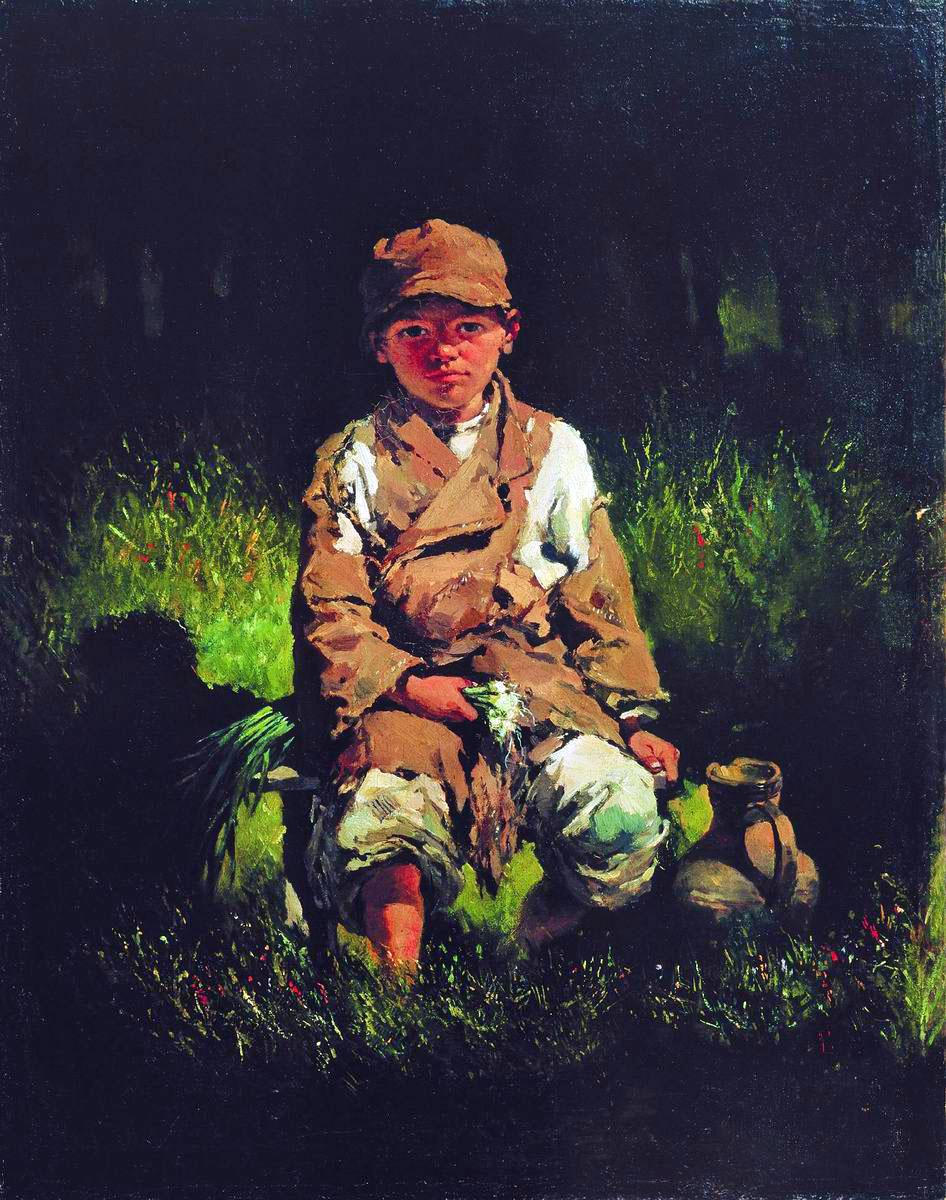 Nikolay Petrovich Bogdanov-Belsky. Peasant boy