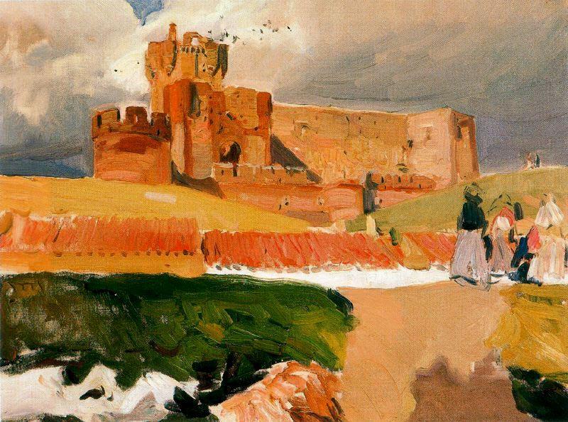 Joaquin Sorolla (Soroya). Castle of La Mota, Medina del Campo