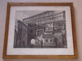 Луиджи Россини. Veduta del Monumento del Condotto delle Acque Claudia,  e Anione nuovo, e dell'Acqua Felice.