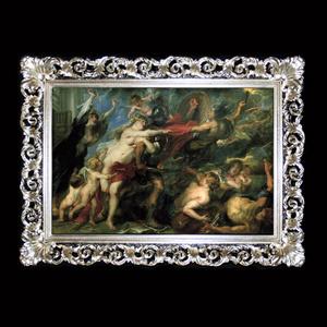 Framing-shop. Baroque single Welt