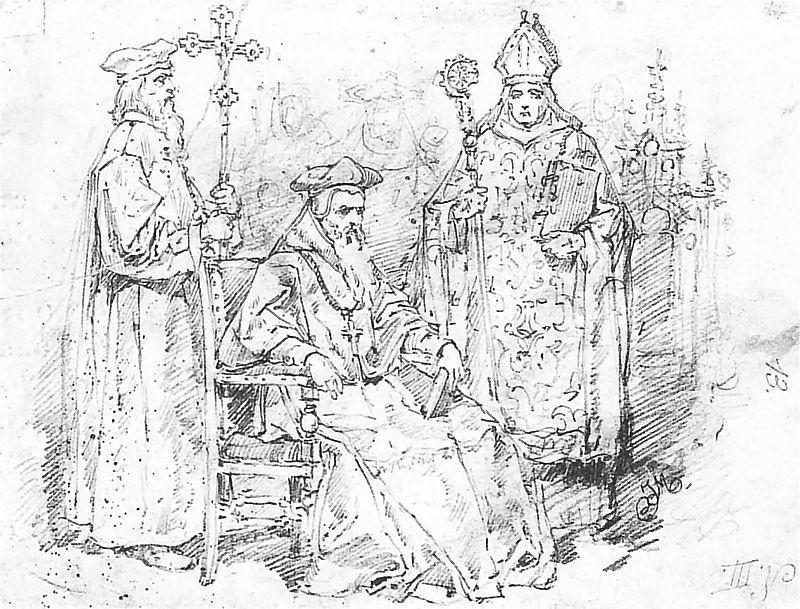 Ян Матейко. Польское духовенство 1548 - 1572 г.г.