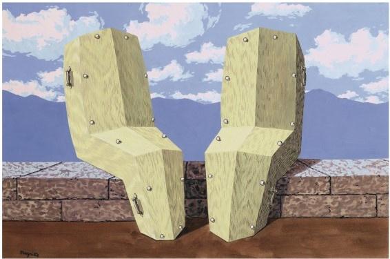 René Magritte. К прекрасному вечеру