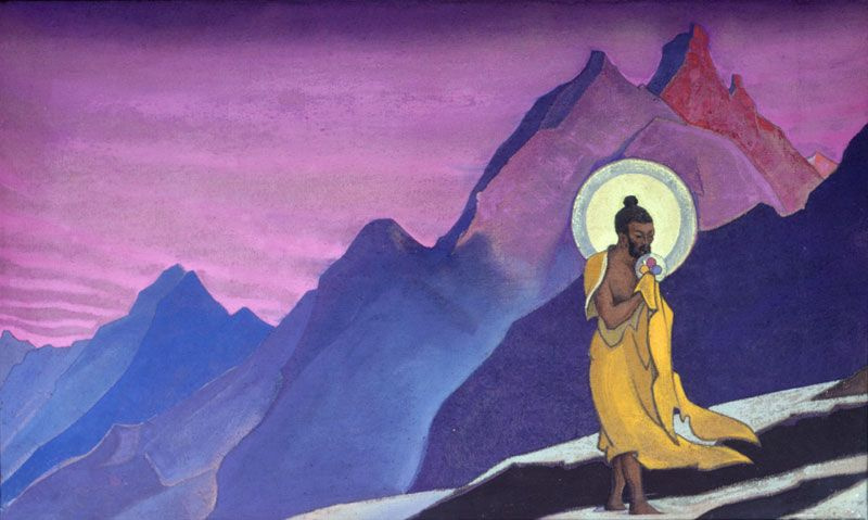 Nicholas Roerich. Bhagavan