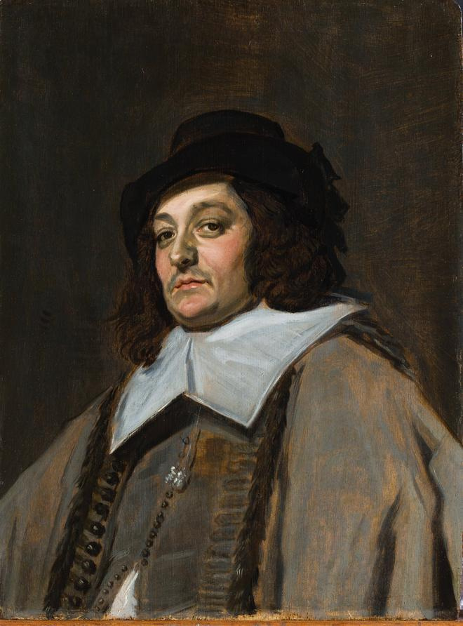 France Hals. Portrait of a traveler