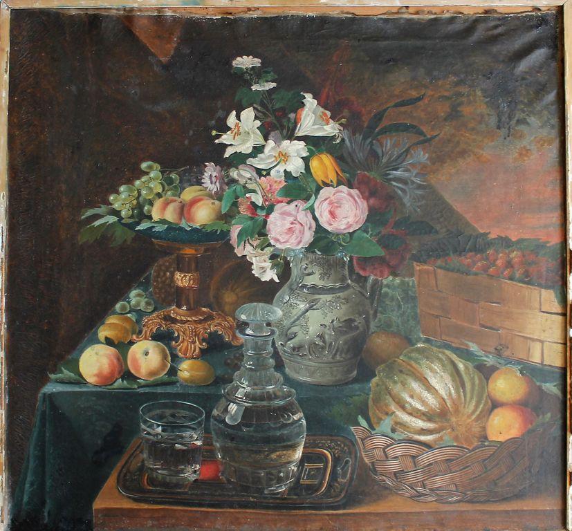 Ivan Ivanovich Belyakov. Flowers and fruits