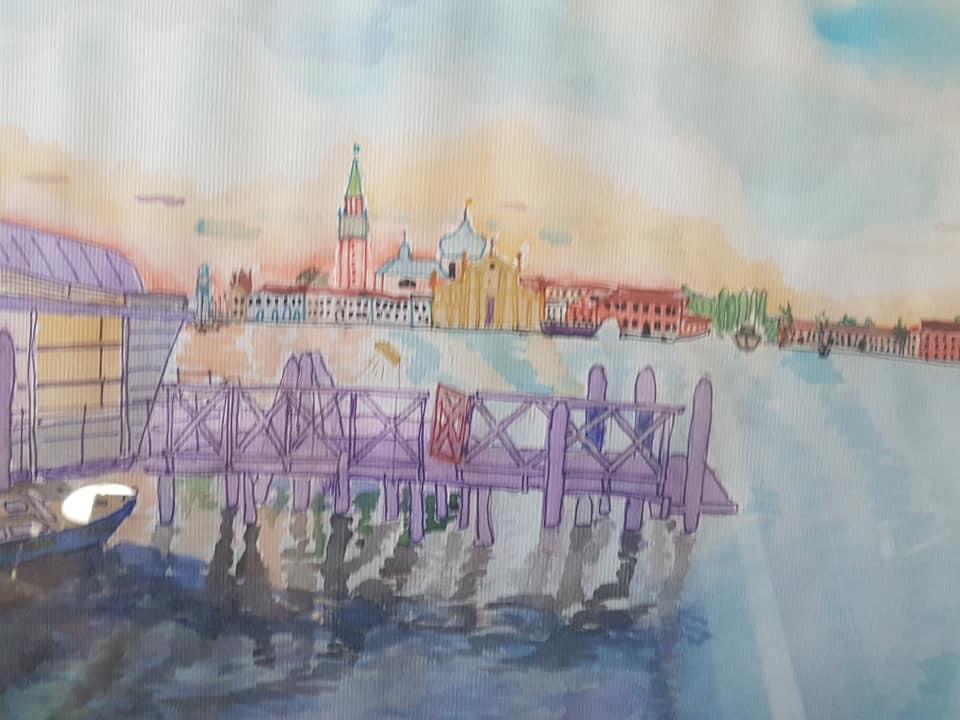 Sergey Vladimirovich Sebini. Venice. Dawn of San Marco.