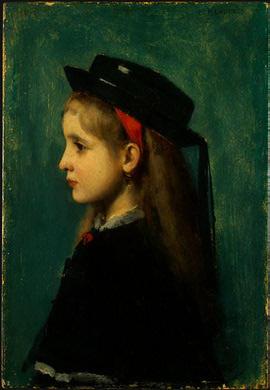 Jean-Jacques Enner. Alsatian girl