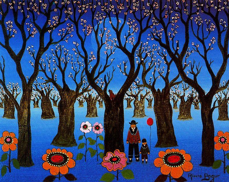 Мигель Ривера Багур. Цветы и деревья