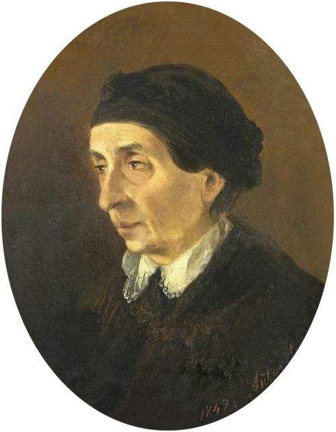 Ivan Aivazovsky. Portrait of Hripsime Aivazovsky, the artist's mother