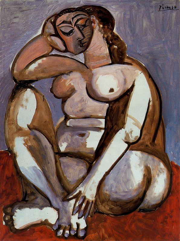 Пабло Пикассо. Нежность