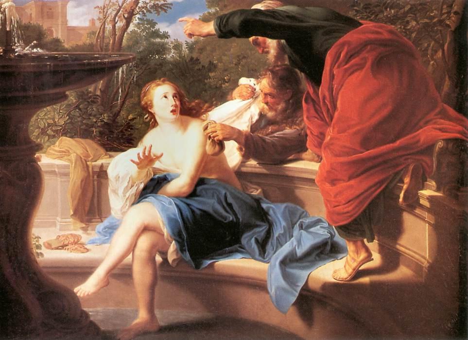 Pompeo Girolamo Batoni. Susanna and the elders