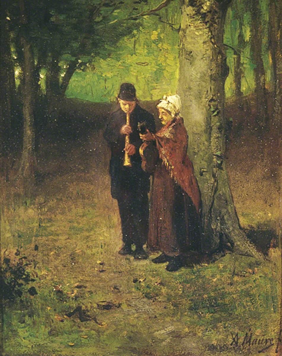 Anton Maouve. Strolling musicians
