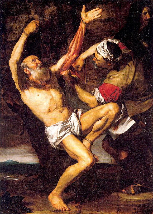 Jose de Ribera. The Apostle Bartholomew