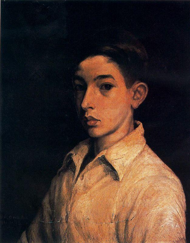 Baldomero Romero Ressendi. Self-portrait