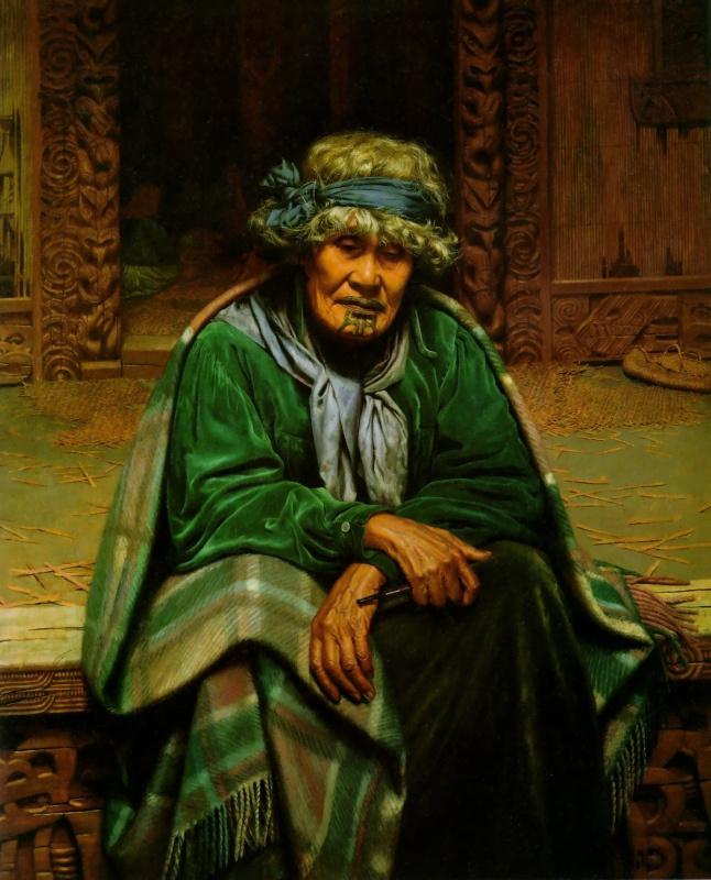 Чарльз Голди. Пожилая женщина