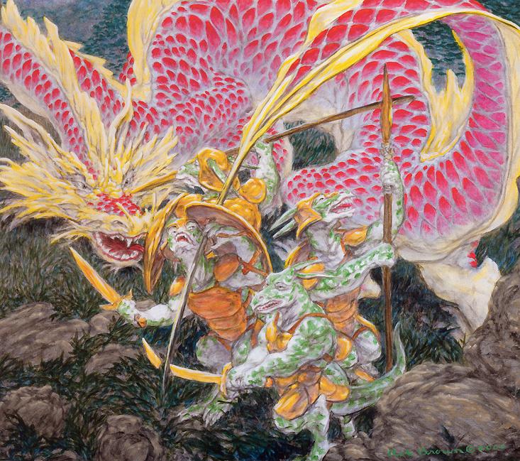 Роб Браун. Красный дракон
