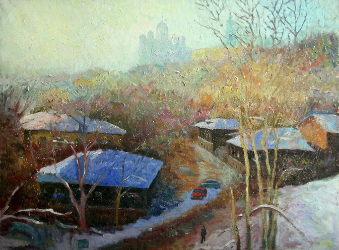 Michael Mine. Winter day