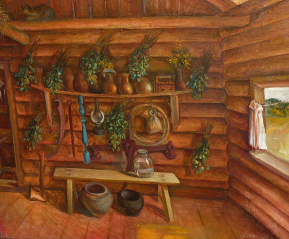 "Galina Grigorievna Sevastyanova. ""The hall"""