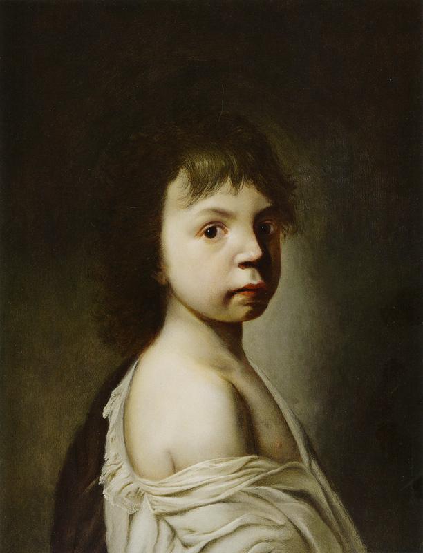 Ян Ливенс. Портрет мальчика с обнаженным плечом