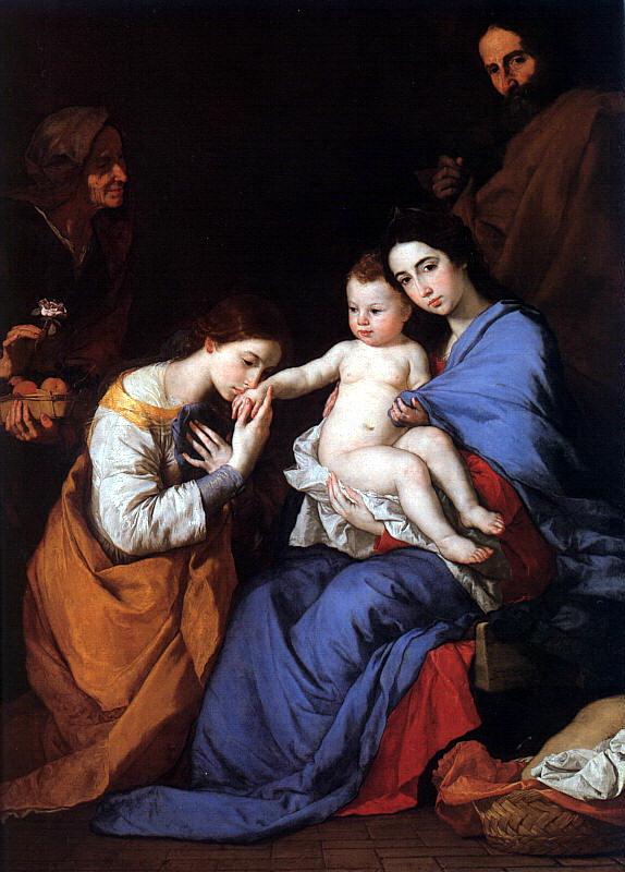 Хосе де Рибера. Младенец
