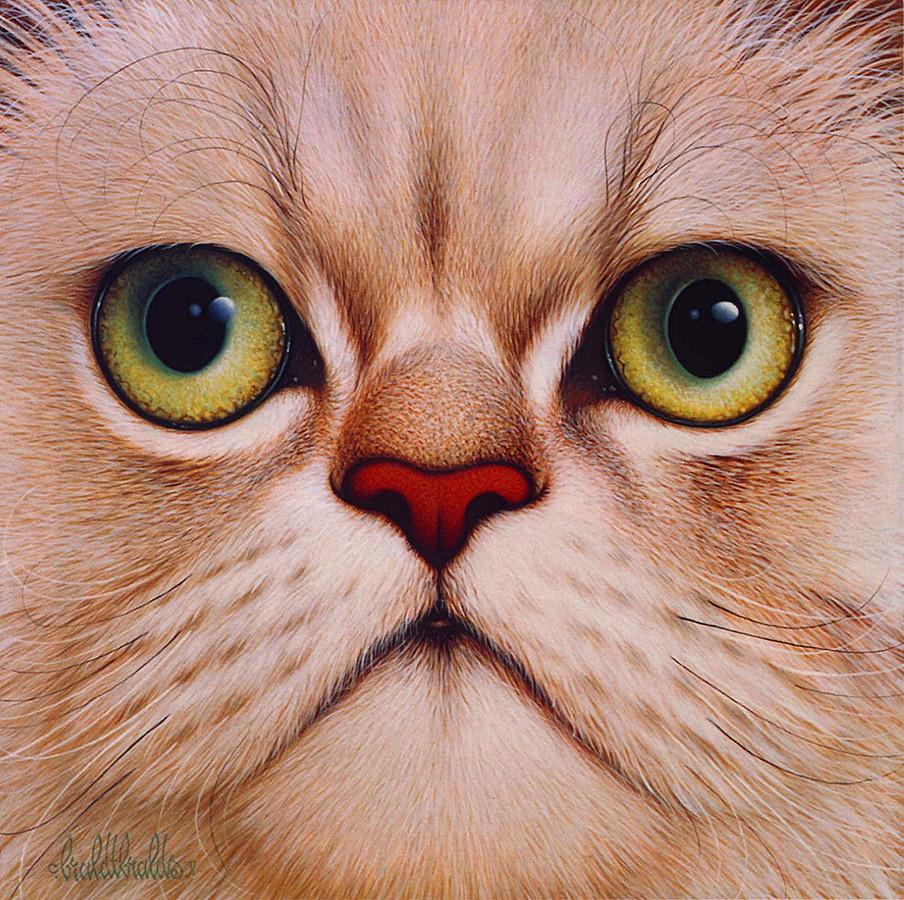 Прикольные картинки нарисованных котят